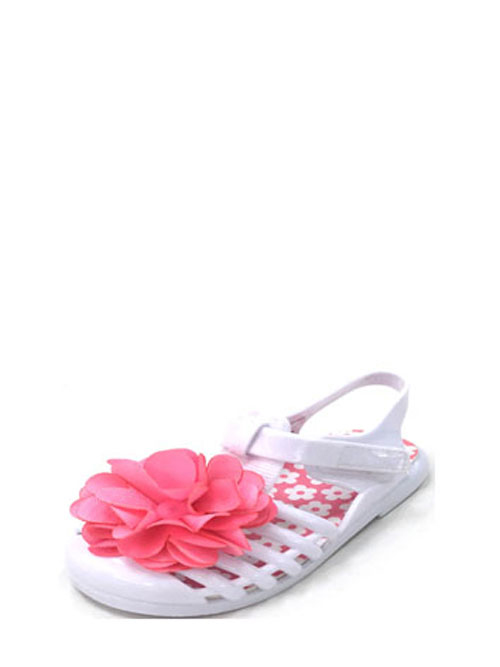 Toddler Girls' Jelly Flower Sandal