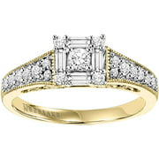 Sincerity 1/2 Carat T.W. Diamond 10kt Gold Engagement Ring (I, I2)