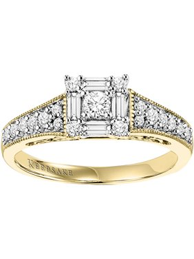 Sincerity 1/2 Carat T.W. Diamond 10kt Gold Engagement Ring (I, I2)