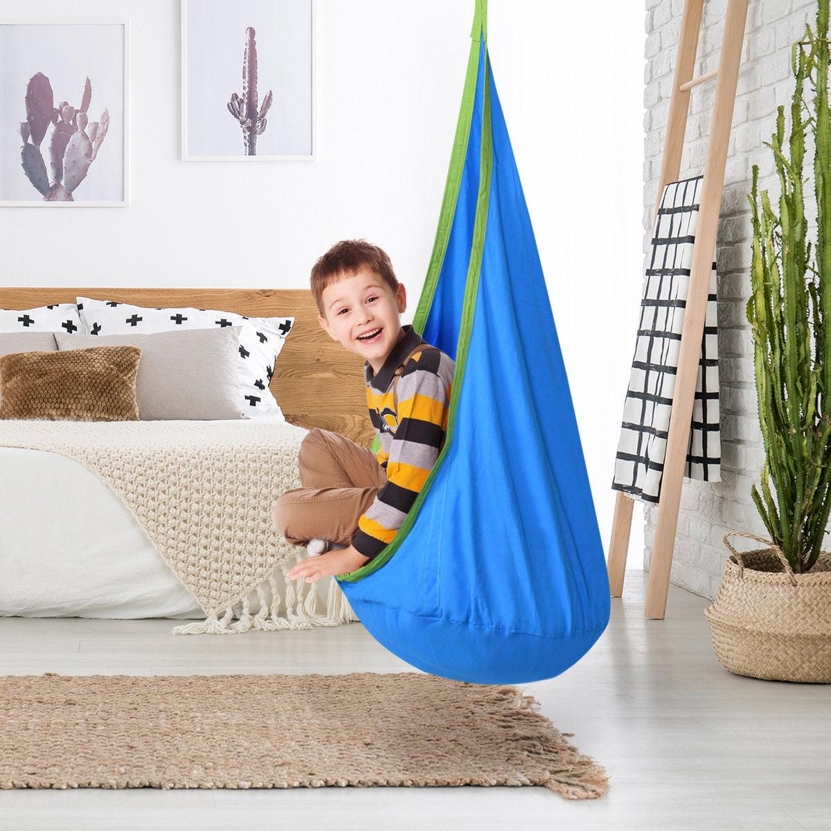 Miraculous Rocking Chairs Kids Hanging Pod Swing Chair Indoor Outdoor Uwap Interior Chair Design Uwaporg