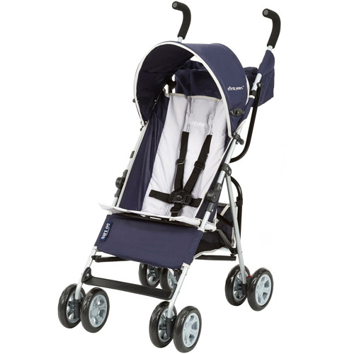 The First Years Jet Stroller, Navy and Gray