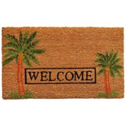 "Momentum Mats Palm Welcome-Coir with Vinyl Backing Doormat (17"" x 29"")"