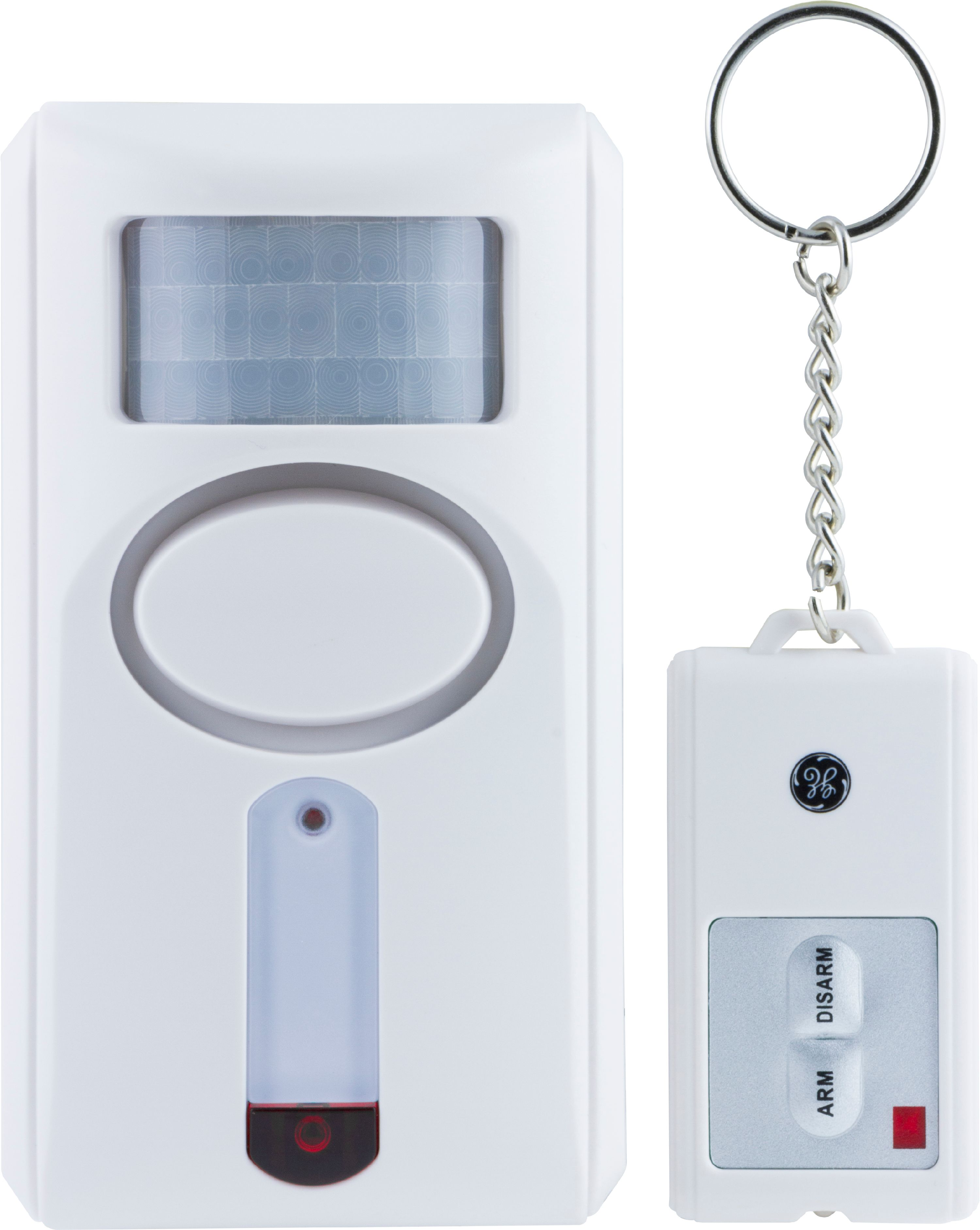 Perfect GE Wireless Motion Sensor Alarm With Key Chain Remote