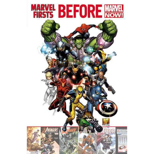 Marvel Firsts: Before Marvel Now!