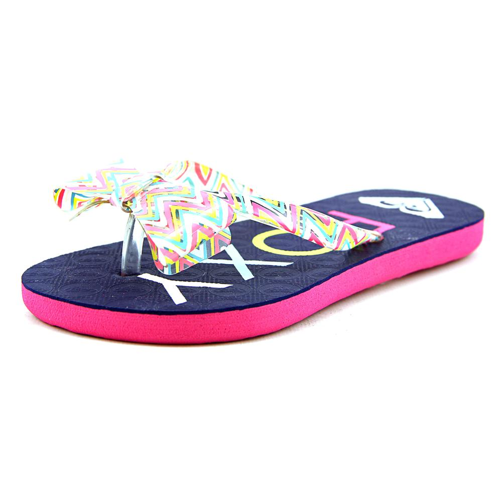 Roxy Lulu II Youth US 2 Multi Color Thong Sandal