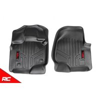 Rough Country Floor Liners (fits) 2015-2019 F150 Weather Rugged Floor Mats