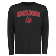 Cal State Northridge Matadors Proud Mascot Long Sleeve T-Shirt - Black