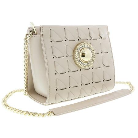 - Versace EE1VRBBD6 Beige Shoulder Bag