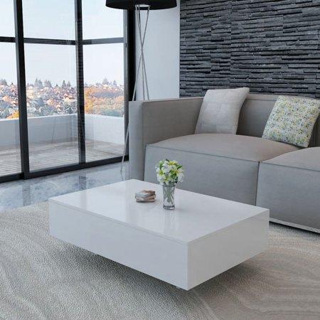 Coffee Table High Gloss White ()