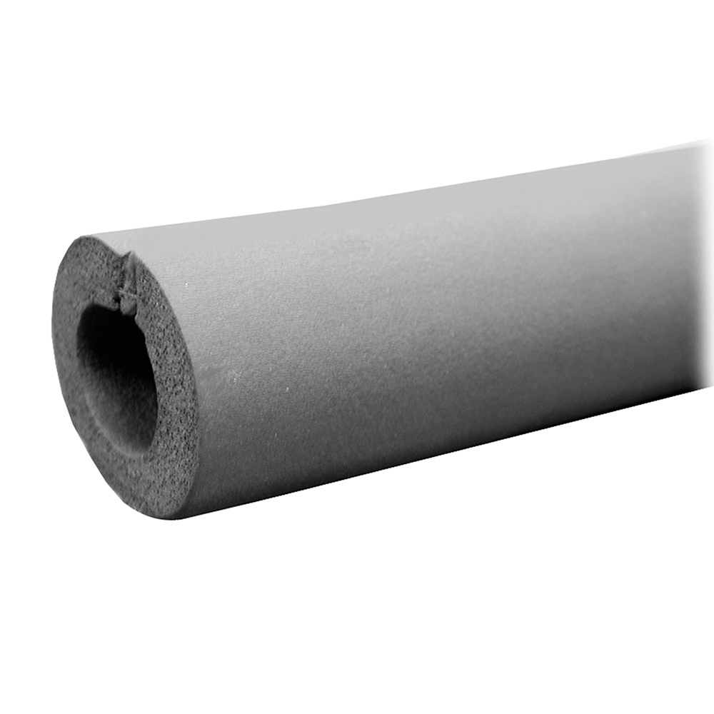 """1/2"""" OD (1/4"""" IPS) Seamless Rubber Pipe Insulation, 1/2"""" Wall Thickness,PartNo I"""