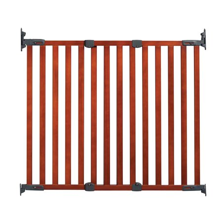 - KidCo Angle Mount Safeway gate - adjustable gate width: 28″ – 42.5″, Cherry