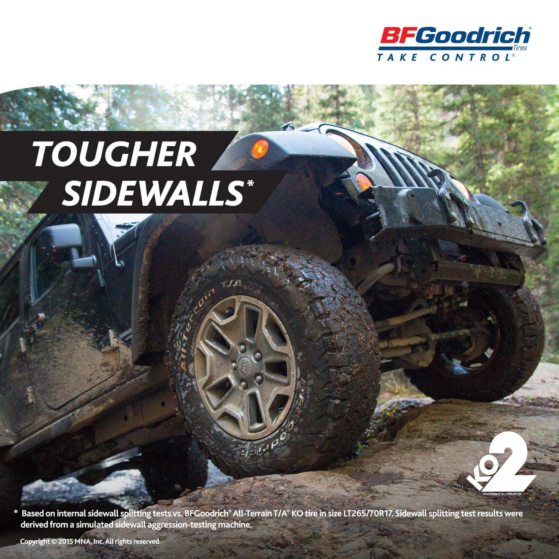 BF Goodrich All Terrain T A KO2 Tire LT265 70R17 10 121 118S
