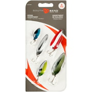 South Bend Spoon Assorted Lures Pack, 5 Count