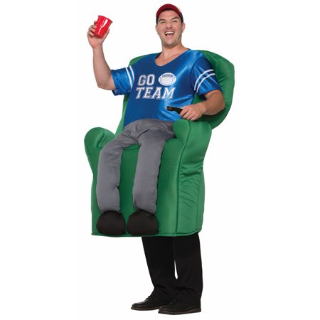 Mens Armchair Quarterback Funny Halloween Costume - Mens Funny Costumes