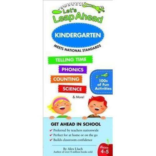 Let's Leap Ahead Kindergarten: Alphabet, Counting, Phonics, Telling Time & More!