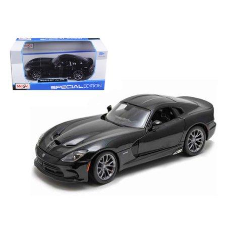 2013 Dodge Viper SRT GTS Black 1/24 Diecast Model Car by Maisto