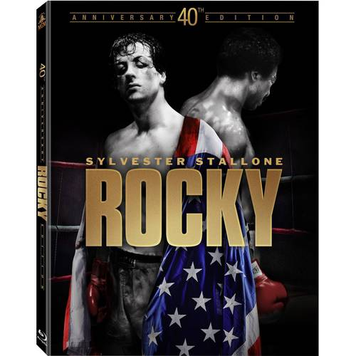 Rocky 40th Anniversay Edition (Blu-ray + Digital HD) (Widescreen)