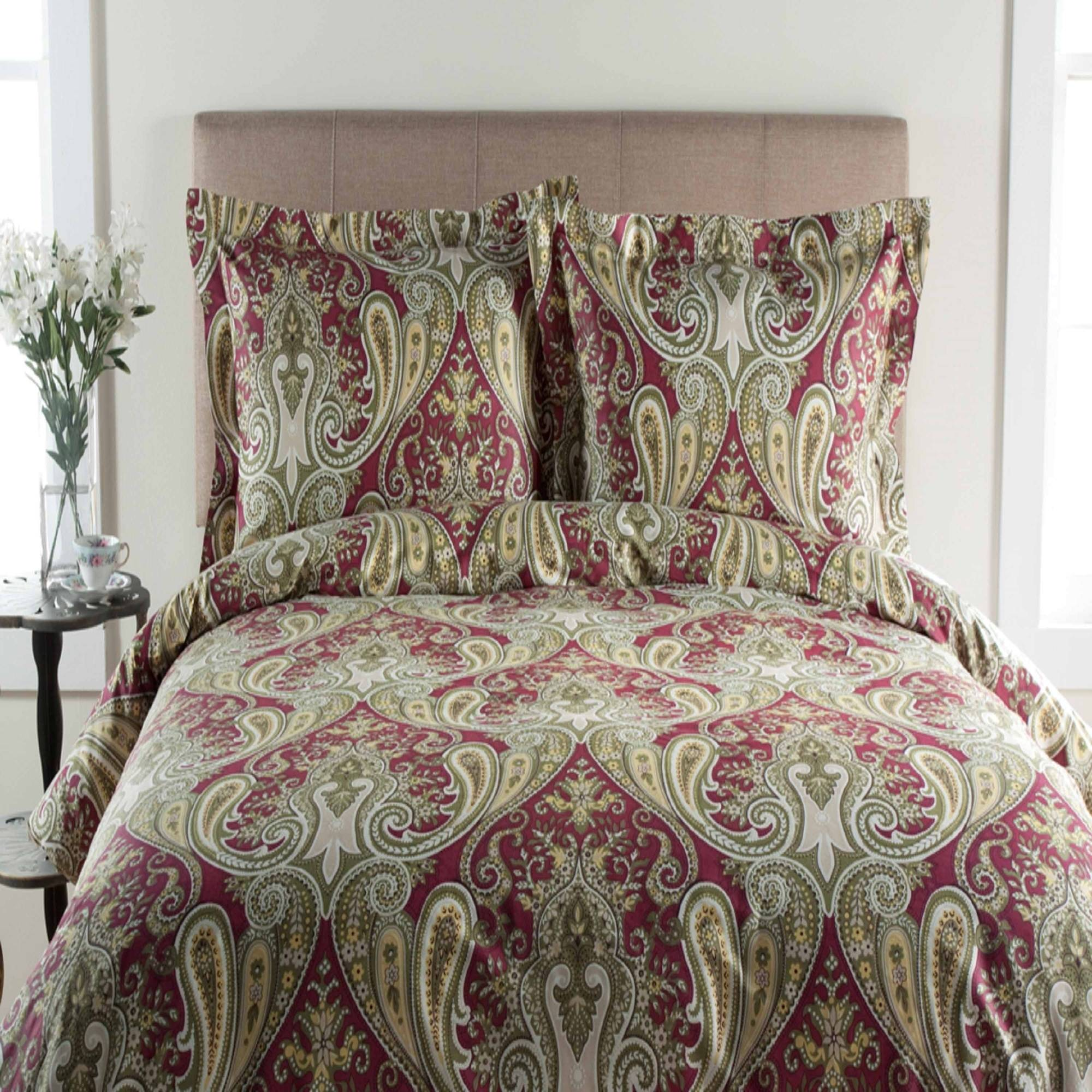 T300 Crystal Palace Print Duvet Set