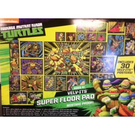 Horizon Group USA Teenage Mutant Ninja Turtles Velv-its Super ...