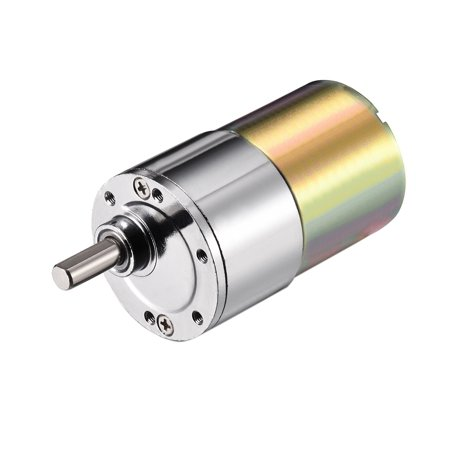 DC 12V 2RPM Micro Gear Box Motor Speed Reduction Gearbox Eccentric Output Shaft - image 1 de 1