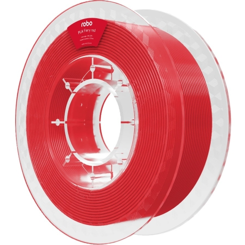 ROBO 3D PLA Fiery Red 500g - Fiery Red - 68.9 mil Filament - Small (S) Spool