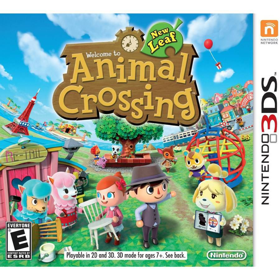 Animal Crossing: New Leaf (Nintendo 3DS) - Pre-Owned