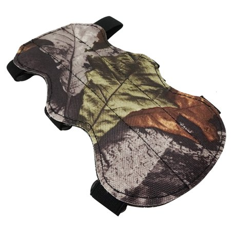 Safari Choice Archery Hunter Camouflage Wrap Armguard With Adjustable Straps - Hunter Camouflage