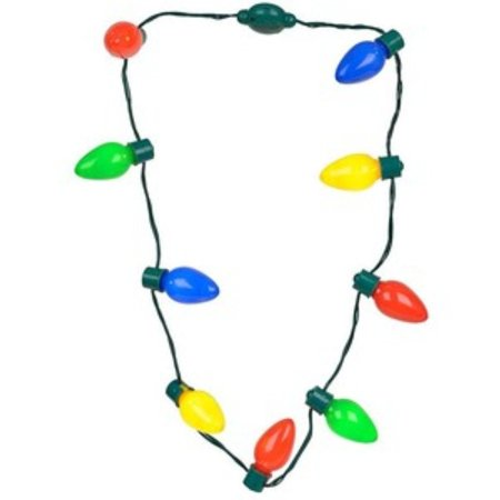Necklace - Christmas light - New - Light Up Christmas Necklaces Discount