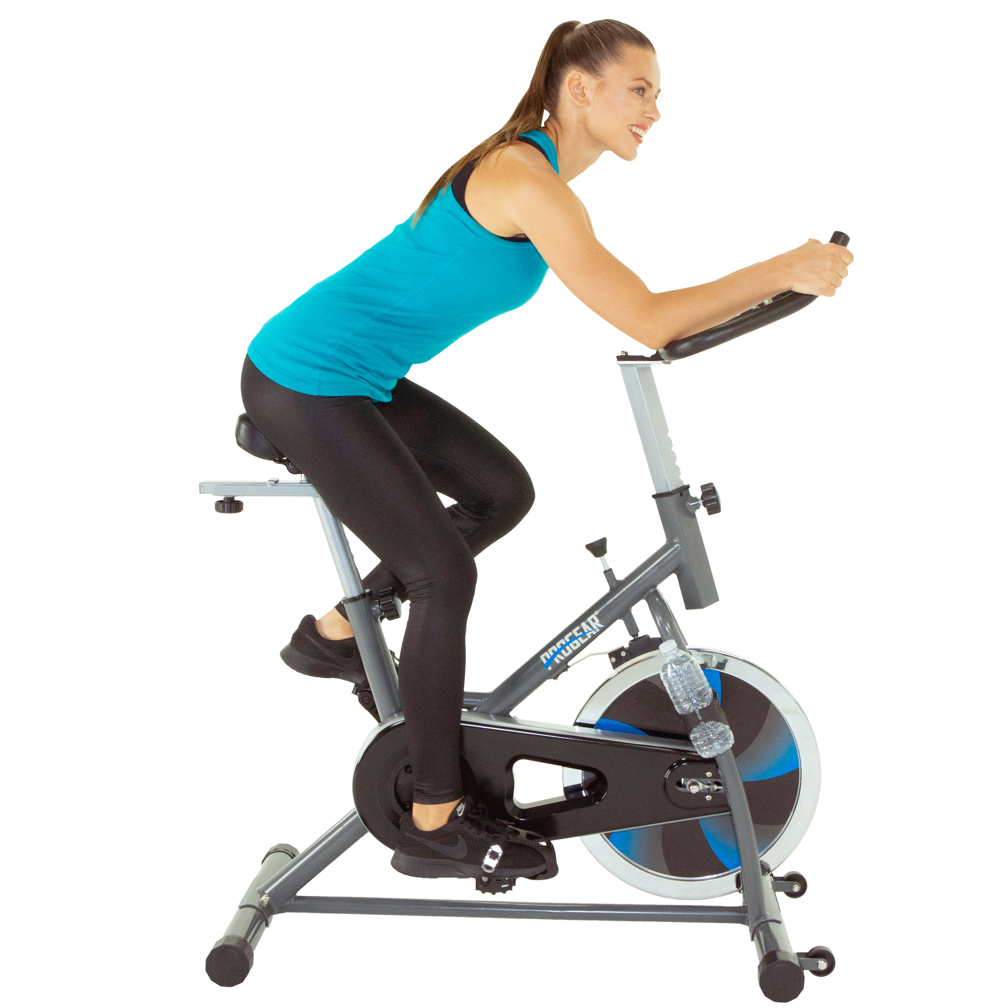 PROGEAR 300BT Exercise Bike/Indoor Training Cycle with Bluetooth Smart Technology and Free APP