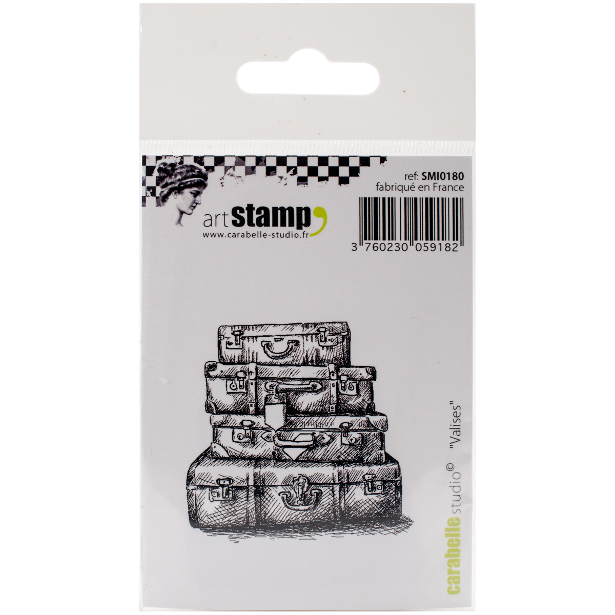 "Carabelle Studio Cling Stamp 2.75""X3.75""-Cases"