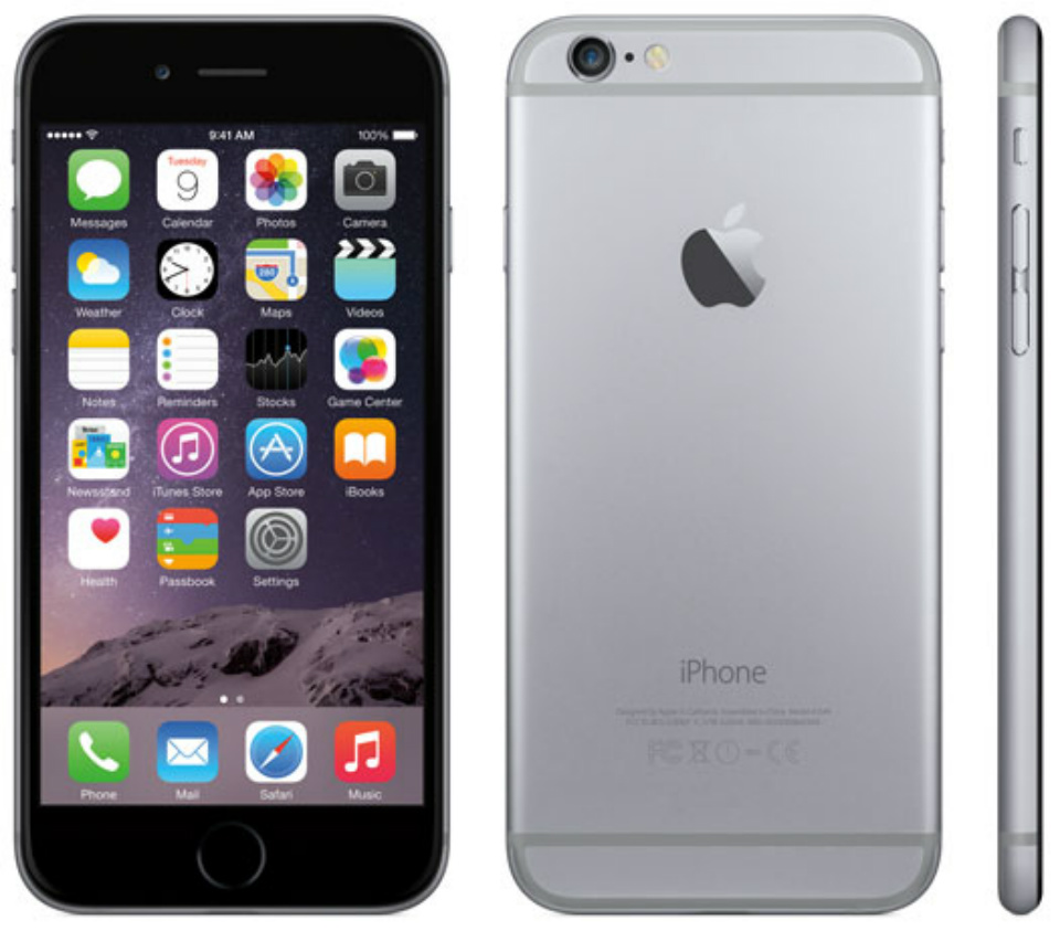 Certified Refurbished Refurbished Apple Iphone 6 Plus 16GB GSM Unlocked IOS Smartphone - Space Gray