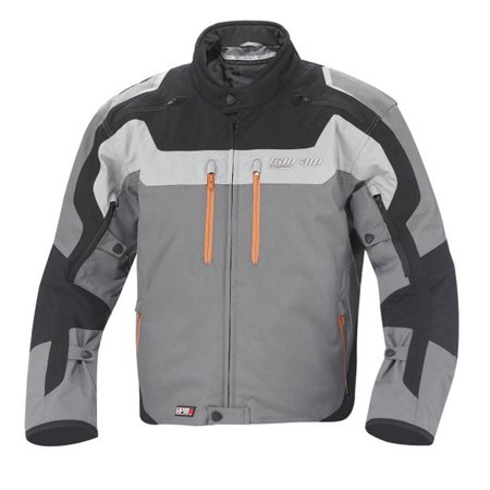 Can-Am Spyder New Mens Roadster Caliber Motorcyle Riding Jacket Large  Magnesium ()
