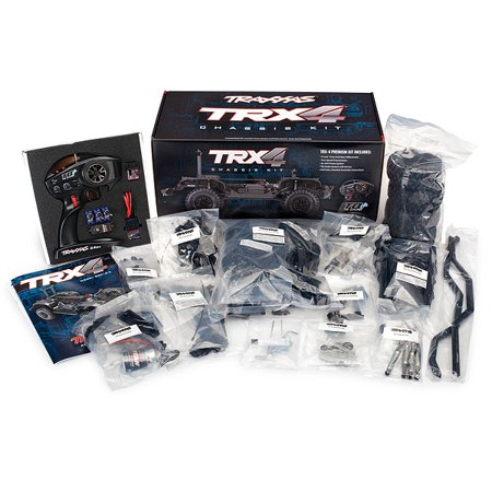 TRX-4 Assembly Kit: 4WD Chassis with TQi Traxxas Link Enabled 2.4GHz Radio -