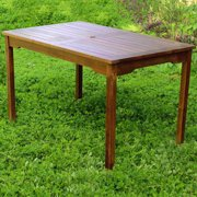 Highland Outdoor Acacia Rectangular Dining Table