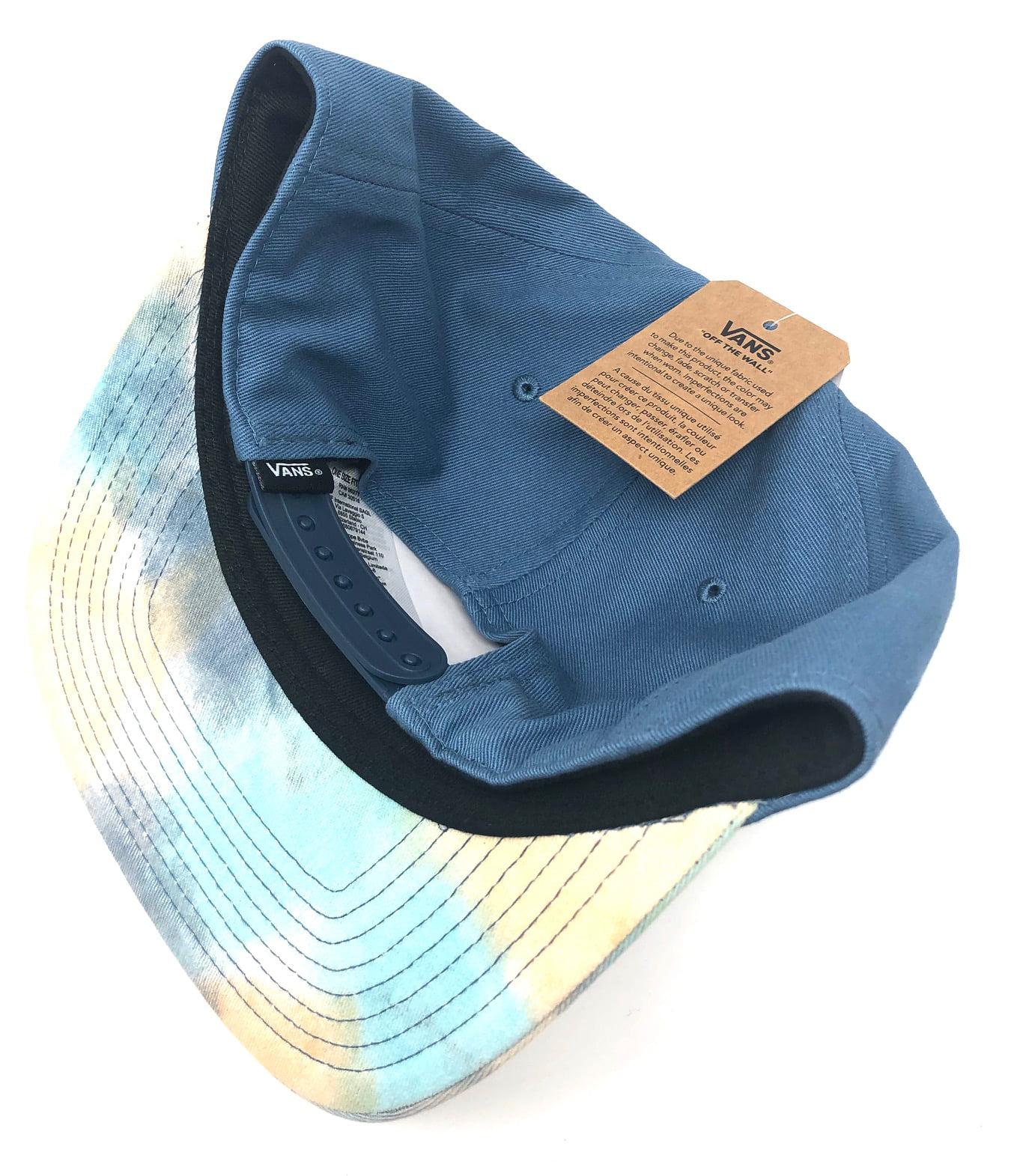 51294d50b Vans Off The Wall Men's Allover It Snapback Hat Cap - Blue/Tie Dye