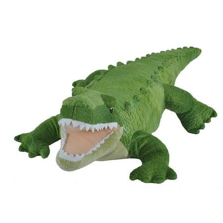 Cuddlekins Green Alligator Plush Stuffed Animal by Wild Republic, Kid Gifts, Zoo Animals,12 Inches Florida Gators 12 Plush