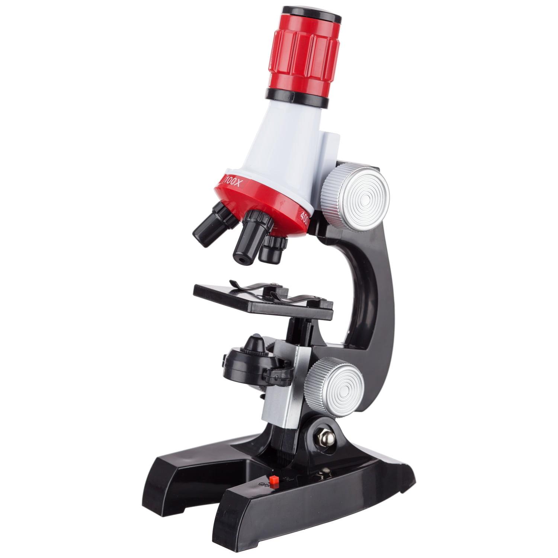 AMSCOPE-KIDS 100X-400X-1200X Beginner Microscope New
