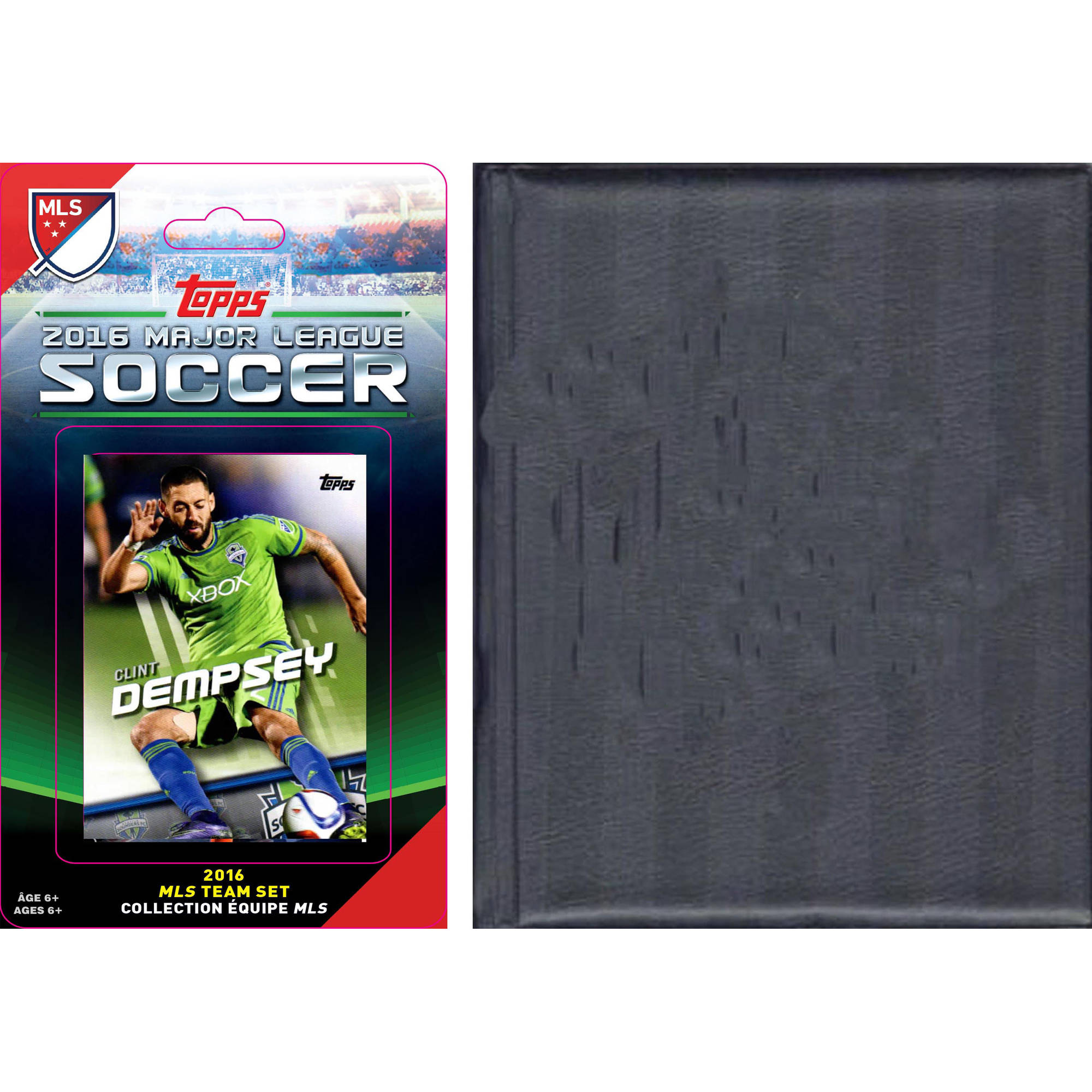 C&I Collectables MLS Seattle Sounders Licensed 2016 Topps Team Set and Storage Album