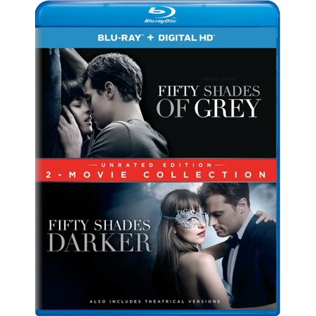 Fifty Shades Of Grey   Fifrty Shades Darker  2 Movie Collection  Unrated Edition   Unrated   Blu Ray   Dvd   Digital Copy