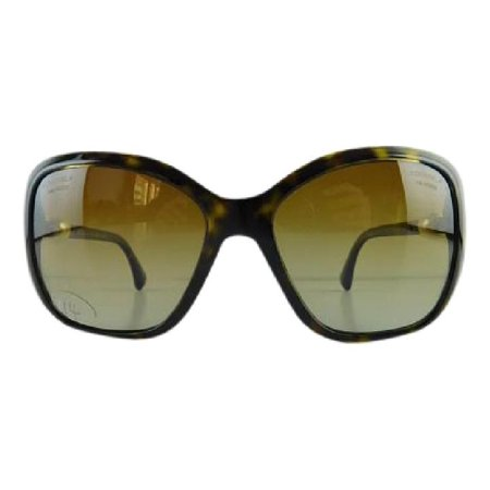 Gently Used Chanel 5303-H 714/S9 Tortoise Plastic Sunglasses (Sunglasses Chanel Women)