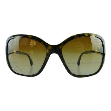 Gently Used Chanel 5303-H 714/S9 Tortoise Plastic Sunglasses 57mm ()