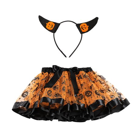 Ballet Halloween Costumes (Outtop Kids Girls Tutu Halloween Party Dance Ballet Toddler Baby Costume)
