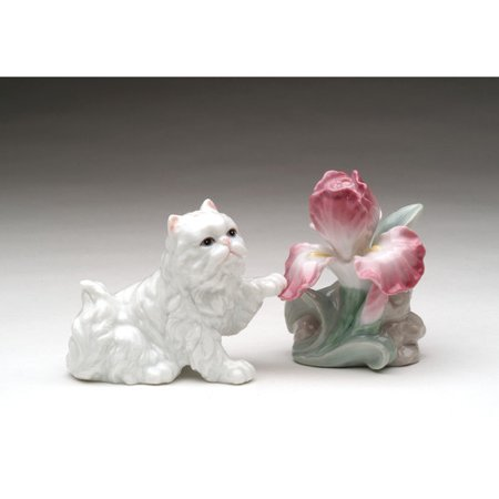 Cosmos Gifts Persian Cats Salt and Pepper -