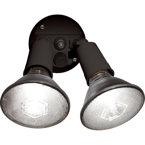 Brinks Dusk To Dawn Activated Flood Security Light, Bronze