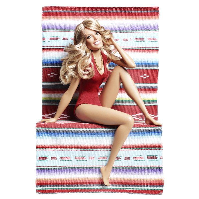 Mattel Barbie Collector Farrah Fawcett Doll