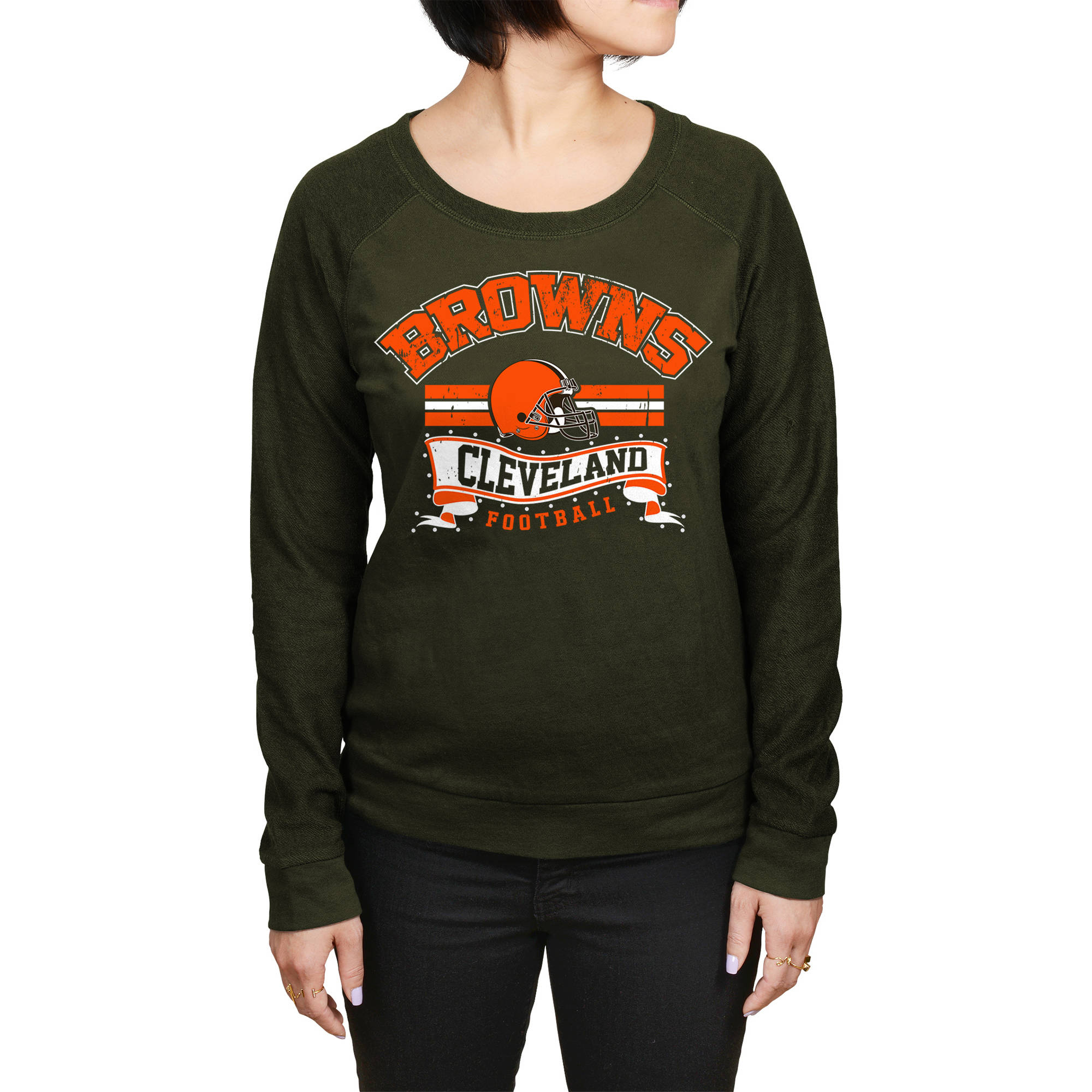 NFL Cleveland Browns Juniors Fleece Top