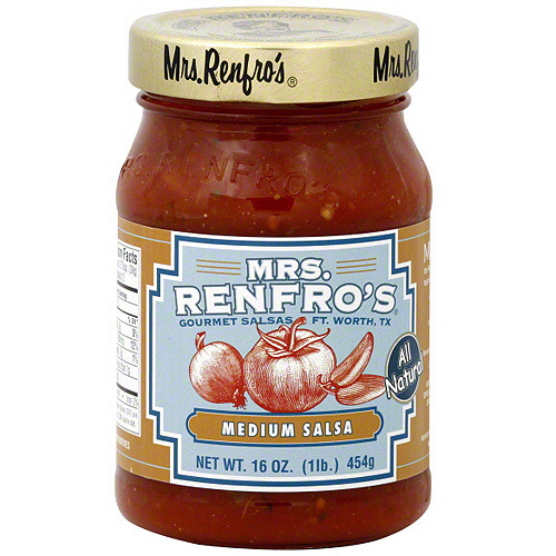 Mrs. Renfro's Medium Salsa, 16 oz (Pack of 6)