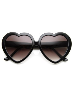 a228868f59f Product Image zeroUV - Large Oversized Womens Heart Shaped Sunglasses Cute  Love Fashion Eyewear - 52mm
