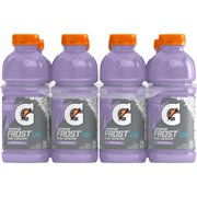 Gatorade Frost Thirst Quencher Sports Drink, Riptide Rush, 20 oz Bottles, 8 Count