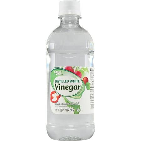Great Value Distilled White Vinegar 16 Oz